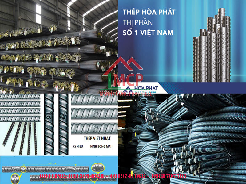Price list of construction steel and iron Hoa Phat in 2020 | Building materials Manh Cuong Phat