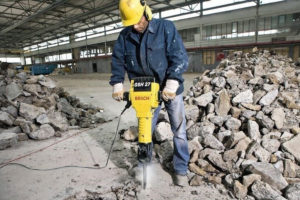 Professional drilling process of concrete cutting in Thanh Binh