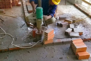 Notes on drilling and cutting concrete version 9