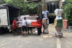 Taxi tải Thành Hưng chuyển đồ nhanh quận Bình Tân