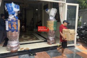 Taxi tải Thành Hưng chuyển đồ nhanh quận Gò Vấp