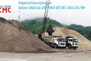 Nhu cầu sử dụng cát san lấp ở các công trình xây dựng