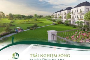 Dự án biệt thự West Lakes Golf & Villas thu hút lượng lớn nhà đầu tư tại Long An