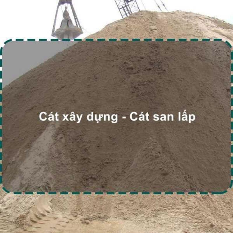 Giá cát san lấp chuẩn quy cách