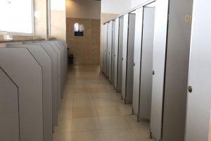 Công ty Hùng Phát nhận thi công vách ngăn vệ sinh